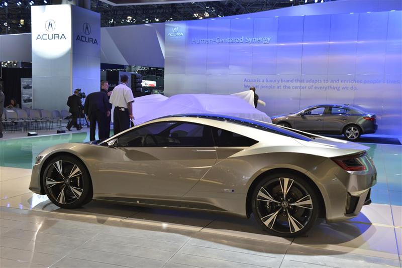 2012 Acura Nsx Concept Image Photo 2 Of 19