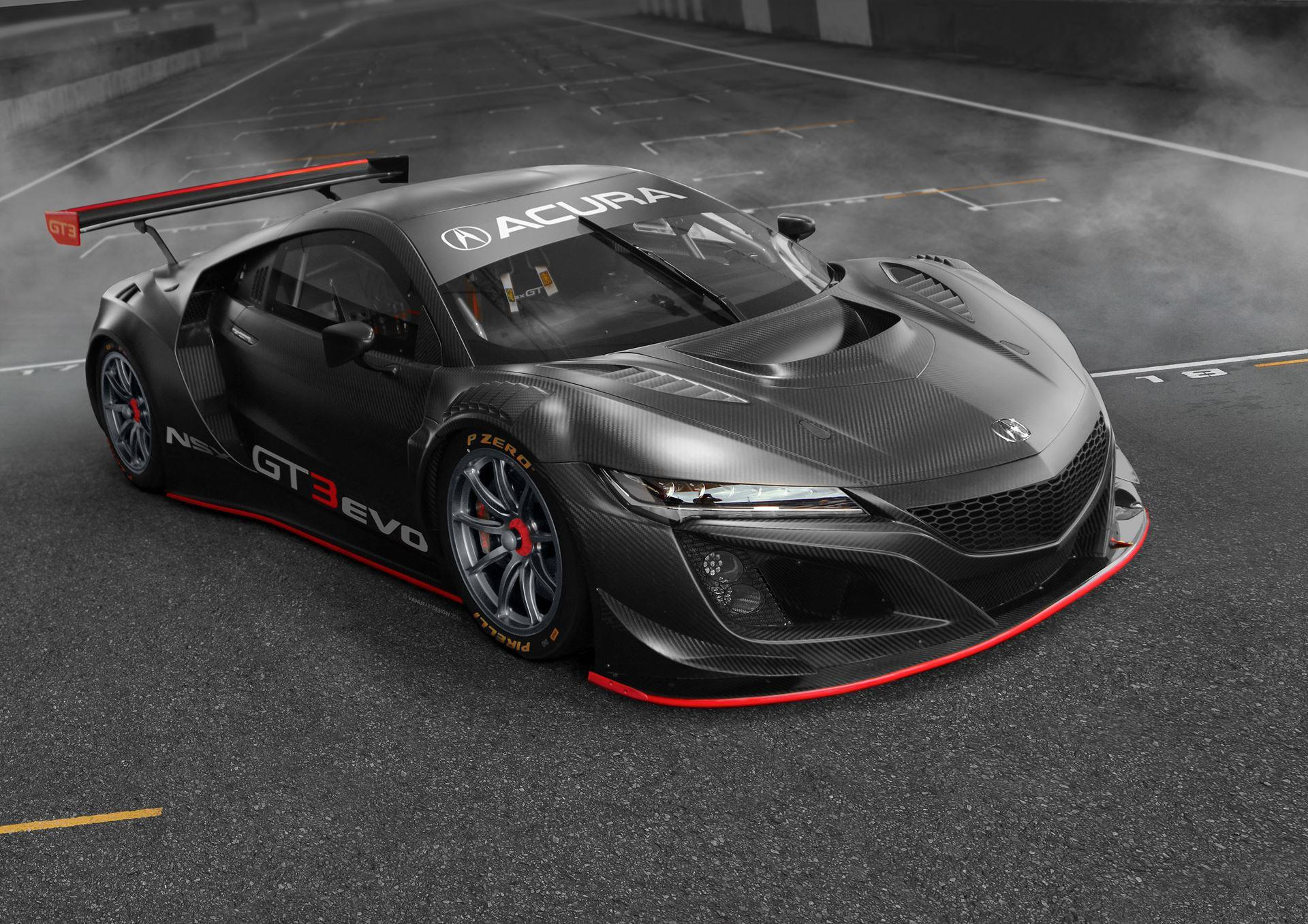 2019 acura nsx gt3 evo news and information  research  and pricing