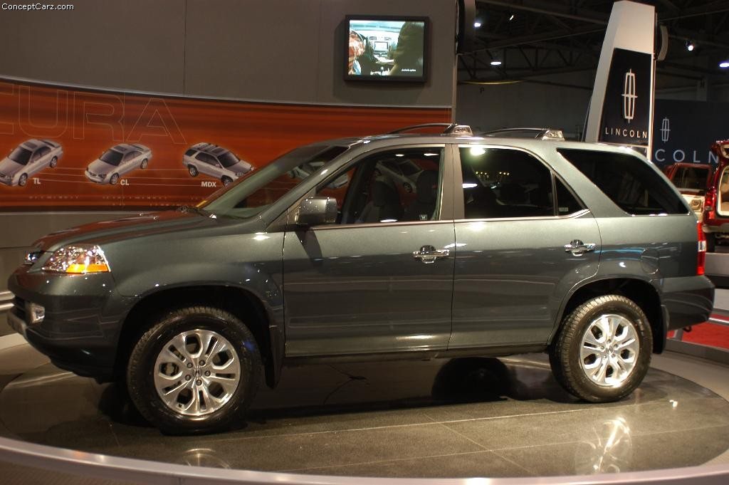 Auction Results and Sales Data for 2003 Acura MDX