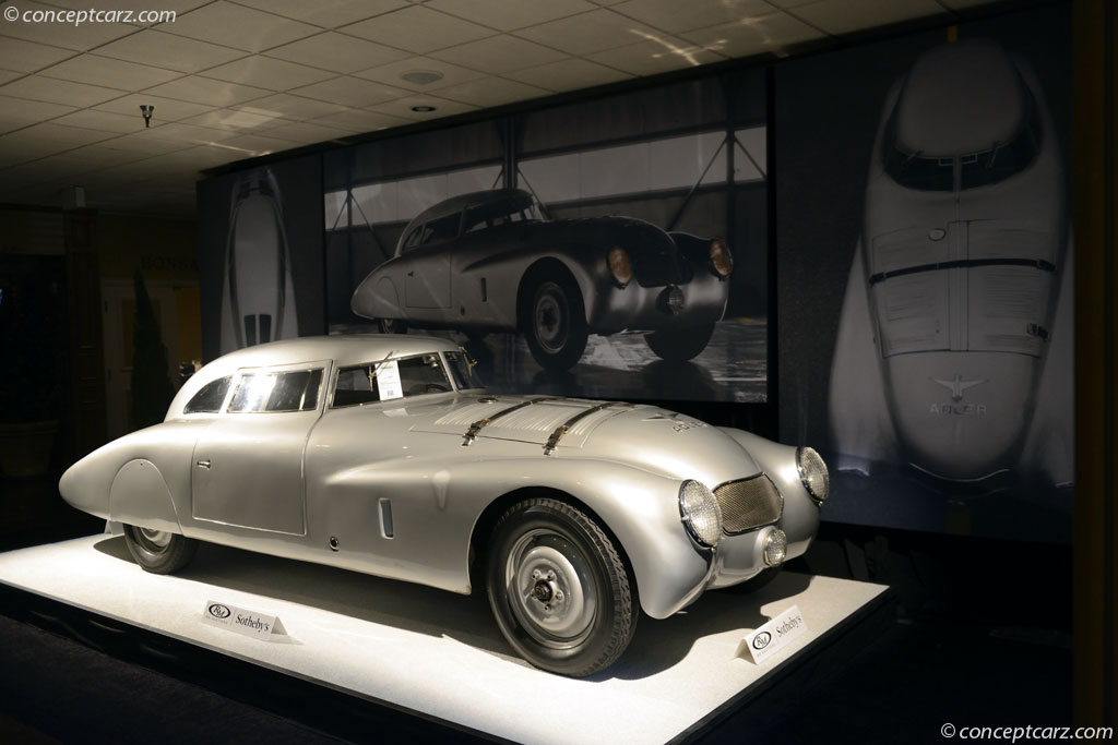 Great Auto Sales >> 1937 Adler Trumpf Rennlimousine History, Pictures, Value, Auction Sales, Research and News