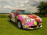 2011 Alfa Romeo MiTo  Art Car by Louise Dear image.