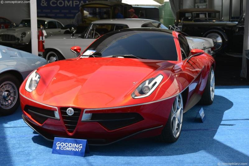 2012 Alfa Romeo Disco Volante Concept Chassis Information