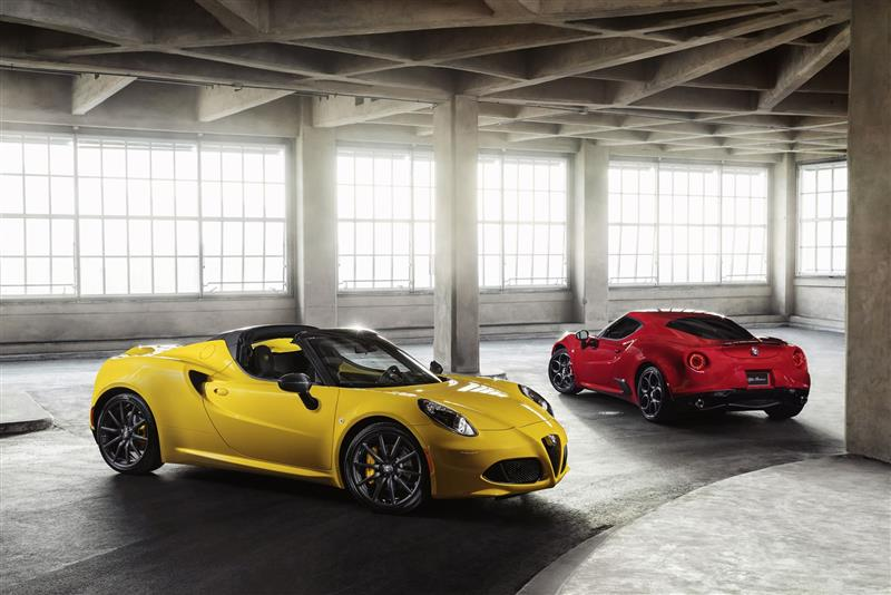 Alfa Romeo 4C Spider pictures and wallpaper