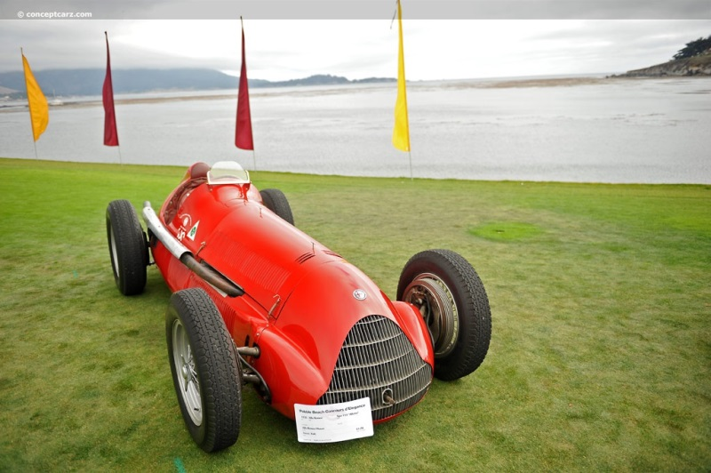 1931 Alfa Romeo Tipo A photo also EventVehicle besides Alfa Romeo 100th Anniversary At Pebble Beach moreover 1948 Alfa Romeo 6c 2500 photo also Exmouth Australia. on pandion pebble beach
