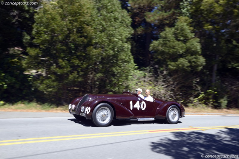 1938 Alfa Romeo 6c 2300b Image Chassis Number 815001 Photo 32 Of 110