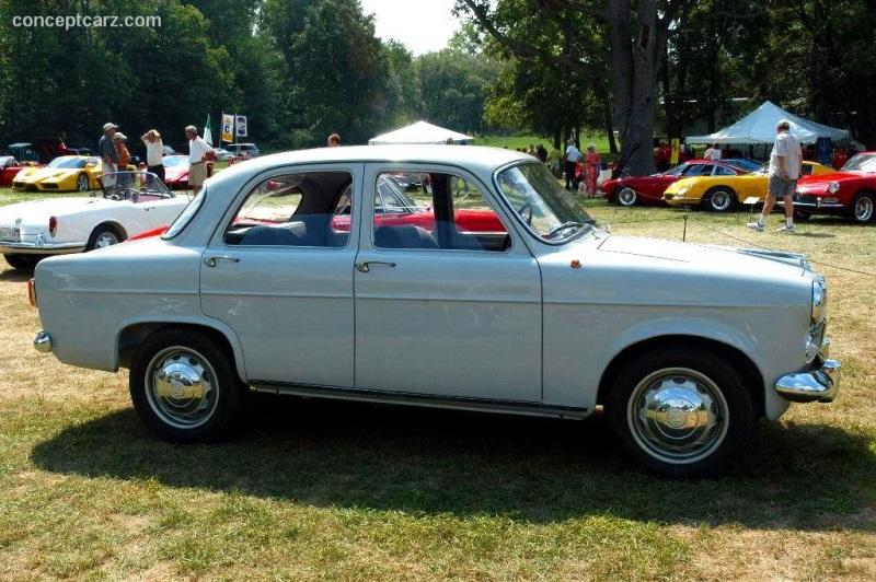 Chassis 148800975 1955 Alfa Romeo Giulietta Chassis Information