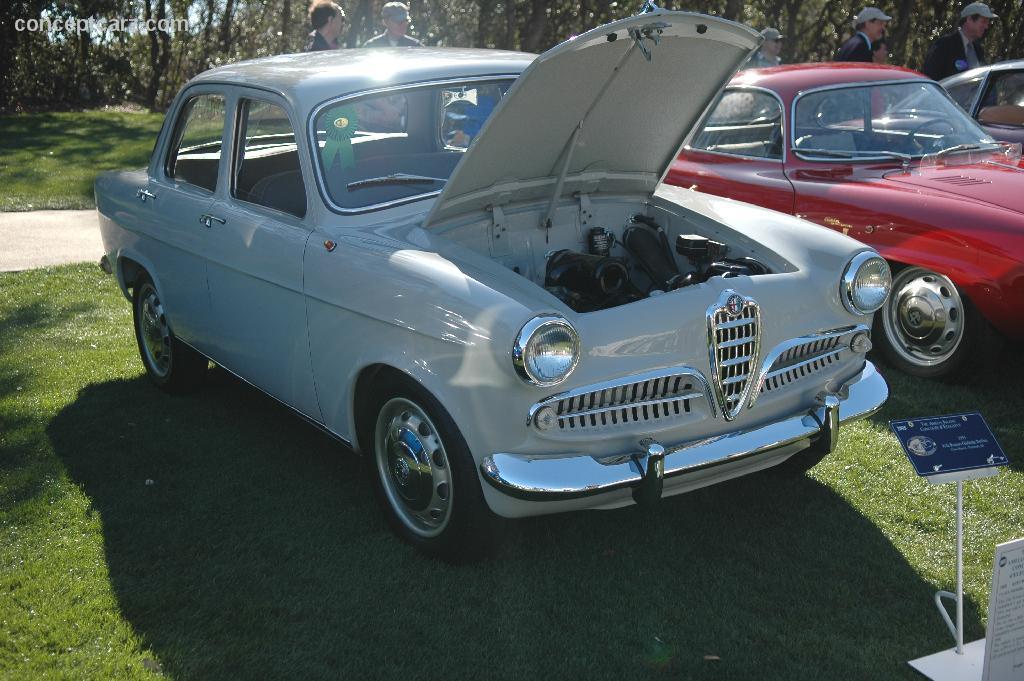 1955 Alfa Romeo Giulietta History Pictures Value Auction Sales