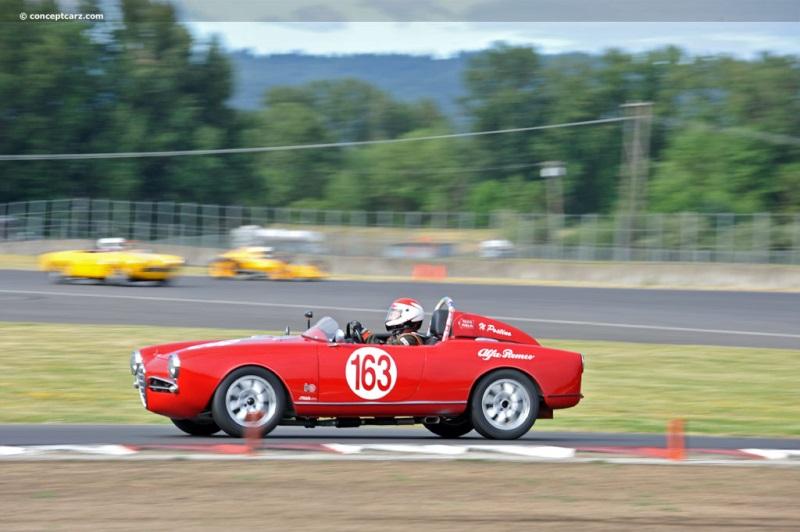 Alfa romeo giulietta spider chassis number