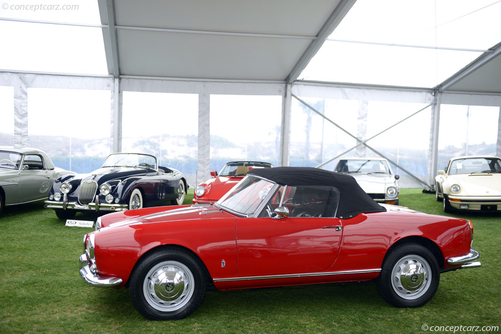 auction results and sales data for 1961 alfa romeo giulietta spider
