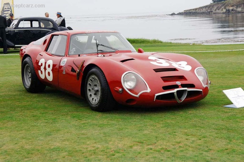1966 Alfa Romeo TZ2 Coupe / 116 Chassis Information