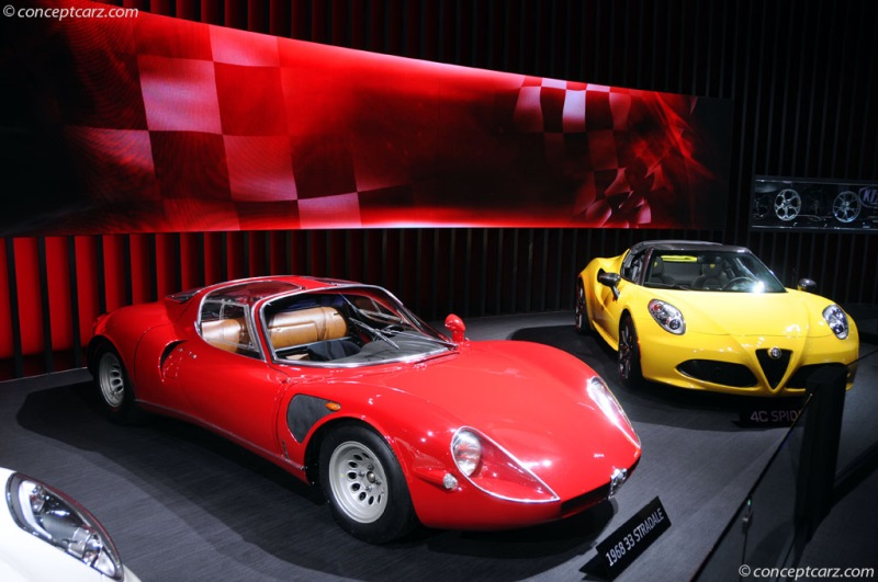 1968 alfa romeo tipo 33 stradale history, pictures, value, auction