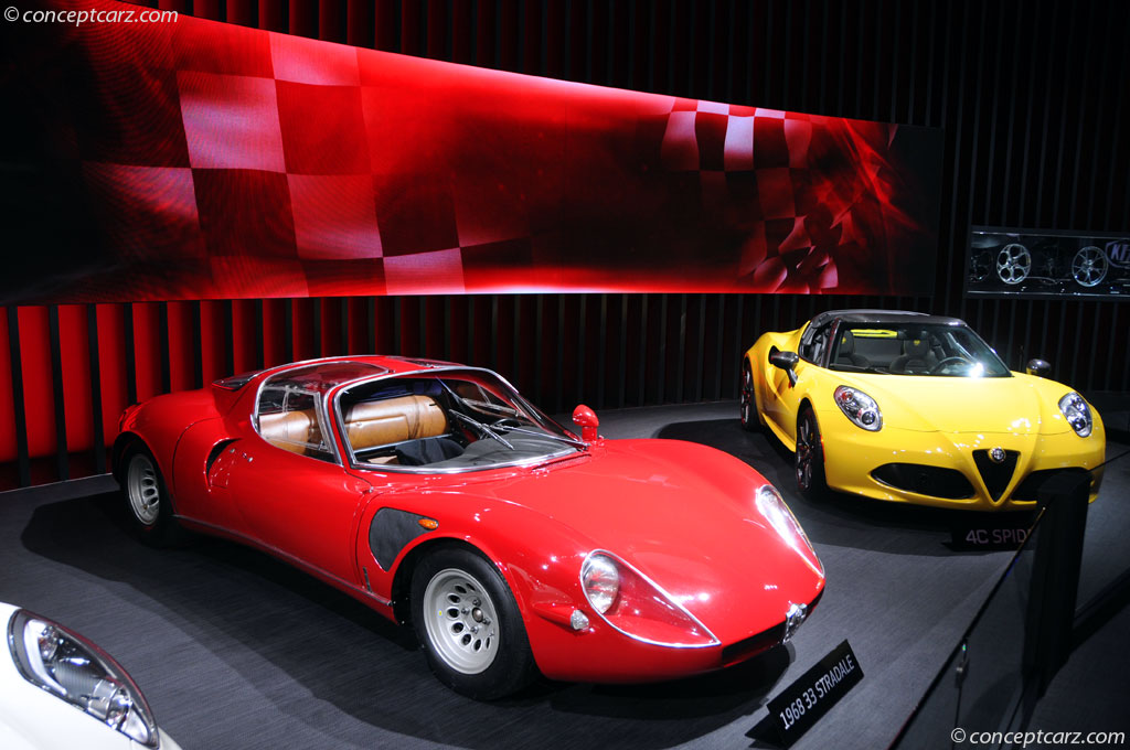 1968 Alfa Romeo Tipo 33 Stradale history, pictures, value, auction sales, and research