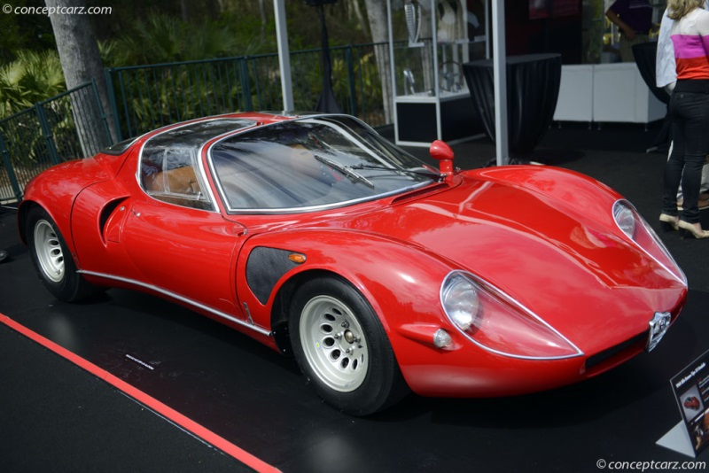 1968 alfa romeo tipo 33 stradale chassis information. Black Bedroom Furniture Sets. Home Design Ideas