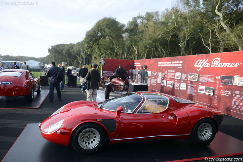 Auction Results And Sales Data For 1968 Alfa Romeo Tipo 33