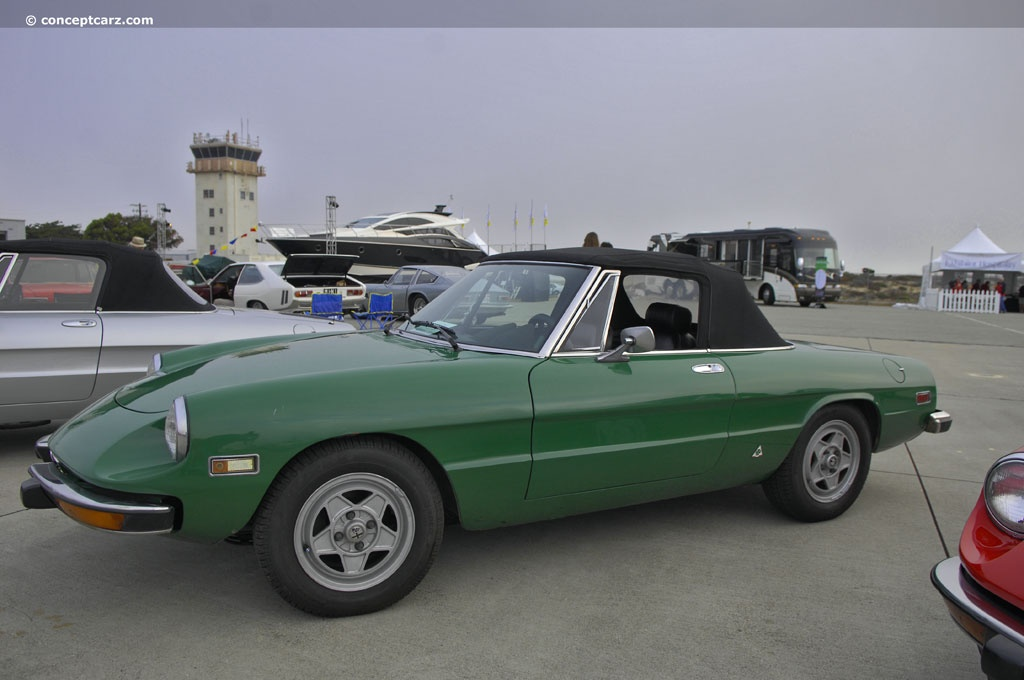 auction results and sales data for 1973 alfa romeo spider veloce
