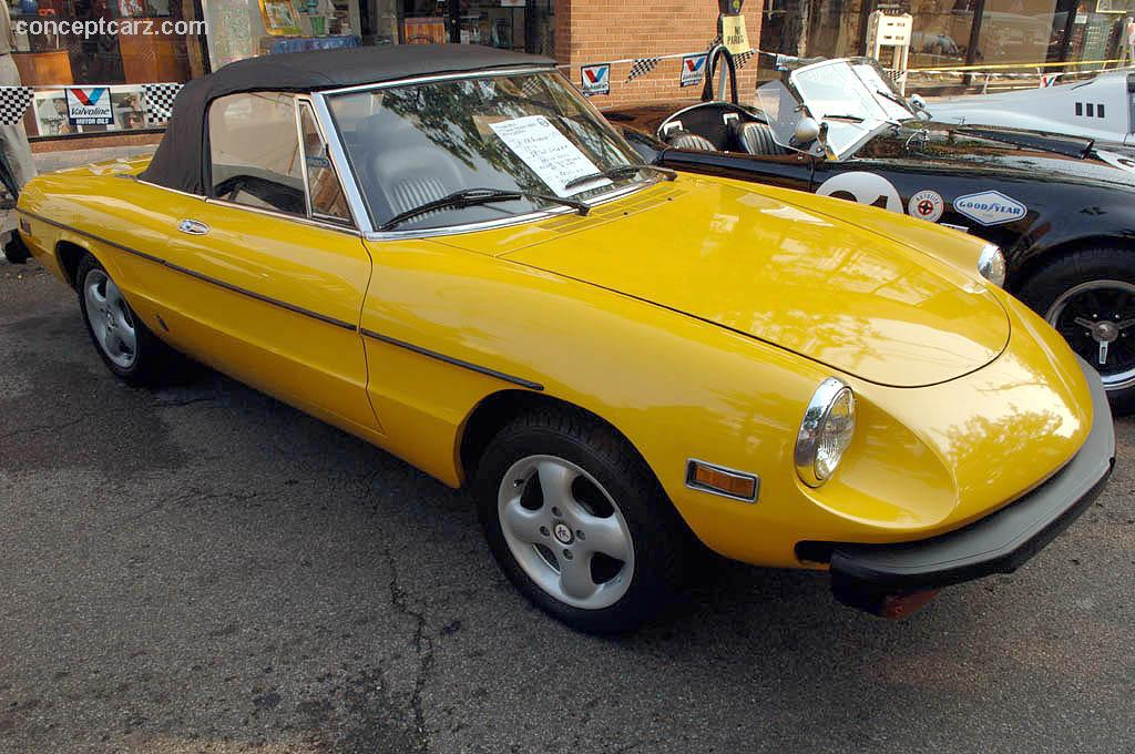 Used Fiat Carlisle >> Auction results and sales data for 1978 Alfa Romeo 2000 Spider Veloce - conceptcarz.com
