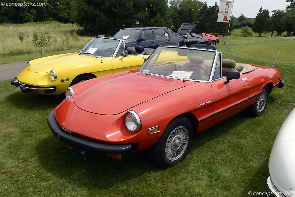Alfa Romeo Spider Veloce History Pictures Value Auction - 1980 alfa romeo spider for sale