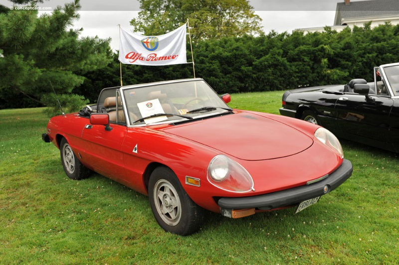 1982 Alfa Romeo Spider Veloce chis information.