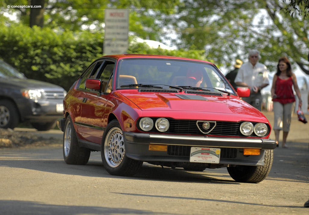 1984 Alfa Romeo Gtv 6 History Pictures Value Auction