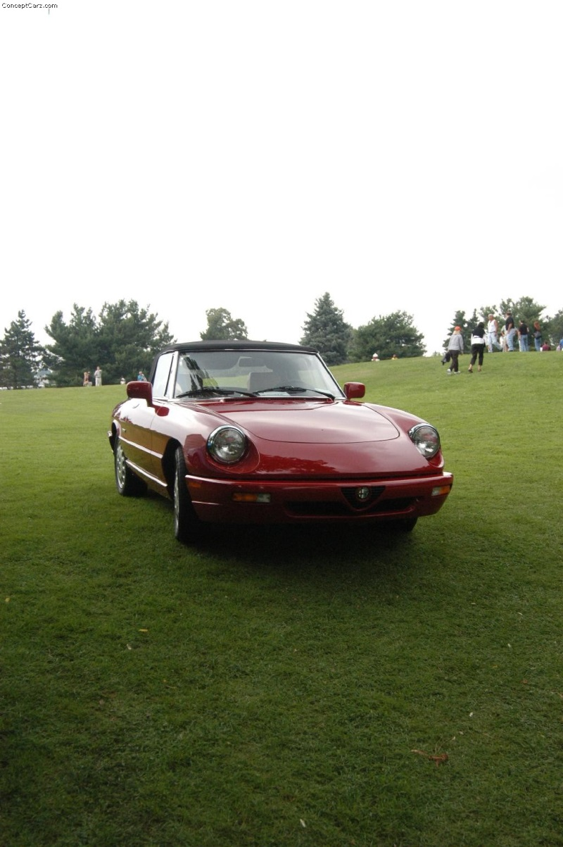 1984 alfa romeo spider veloce at the pittsburgh vintage. Black Bedroom Furniture Sets. Home Design Ideas