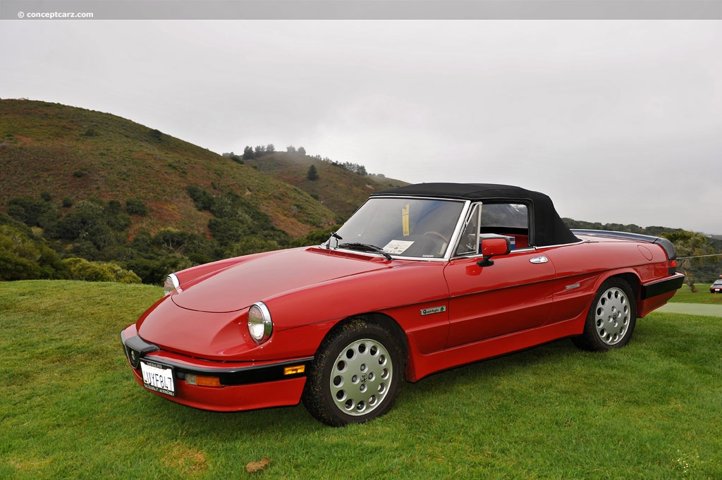 1986 alfa romeo spider quadrifoglio image. Black Bedroom Furniture Sets. Home Design Ideas