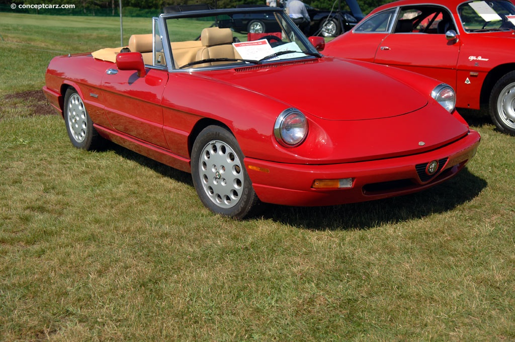 alfa romeo spider image chassis number