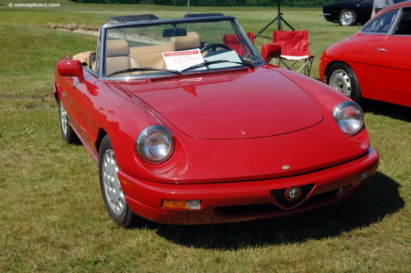Alfa Romeo Spider Image Chassis Number Photo Of - 1994 alfa romeo spider