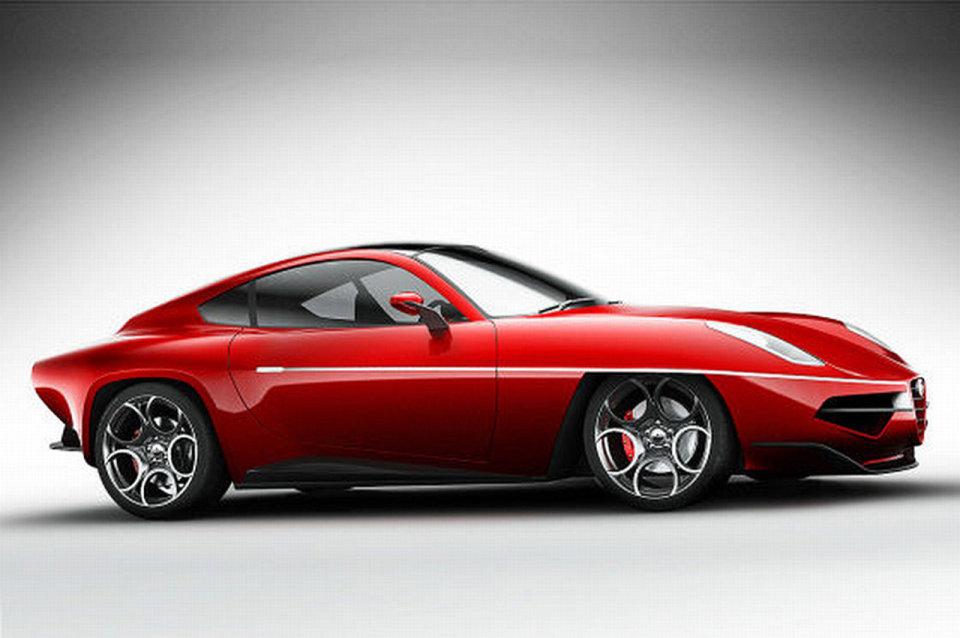 2012 Alfa Romeo Disco Volante Concept Image Photo 80 Of 84