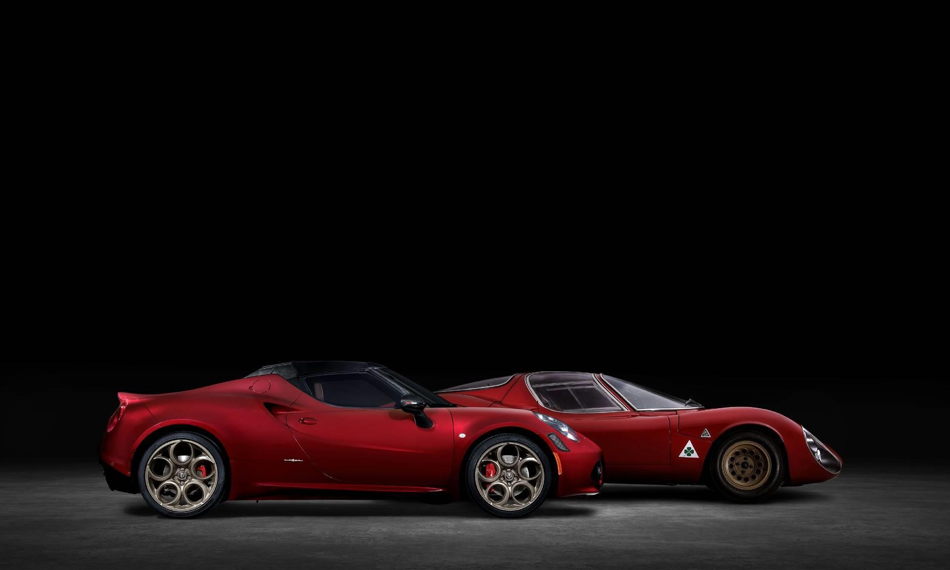 2021 Alfa Romeo 4c Spider 33 Stradale Tributo News And Information