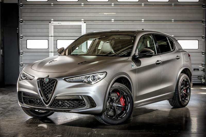 2018 Alfa Romeo Stelvio Quadrifoglio: Performance, Design >> 2018 Alfa Romeo Stelvio Quadrifoglio Nring News And Information