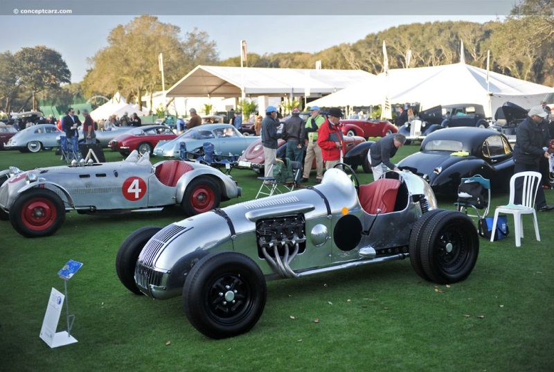 1947 Allard Racer Special Image  Chassis number Steyr  Photo