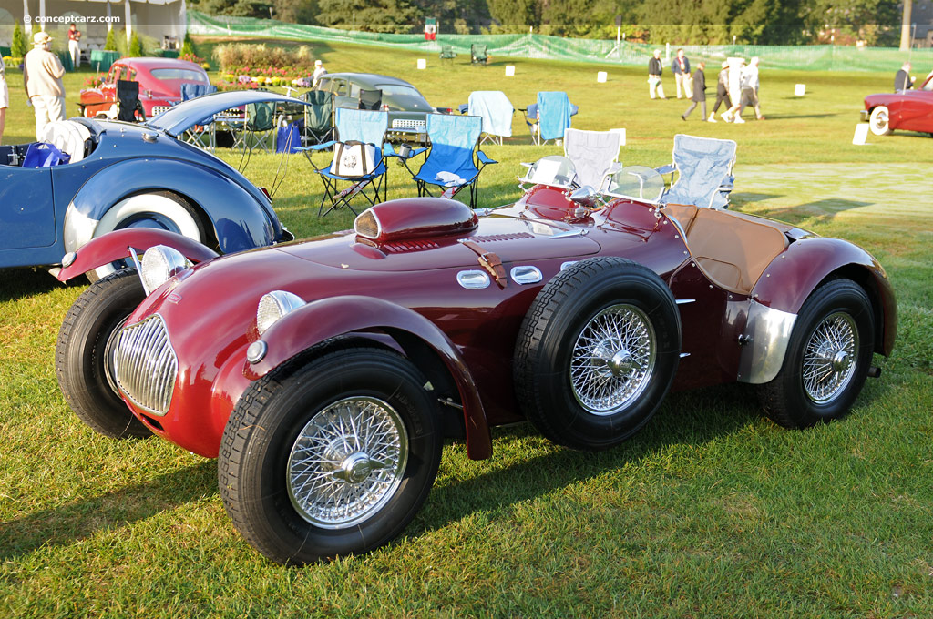 1950 Allard J2 At The Glenmoor Gathering Of Significant