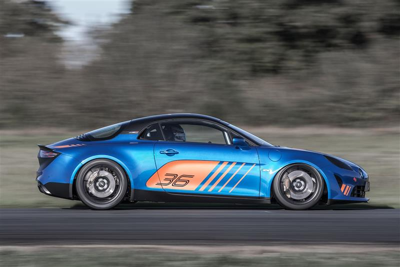 Alpine A110 Cup pictures and wallpaper