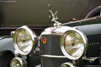 1934 Alvis Speed 20 SB.  Chassis number 11337