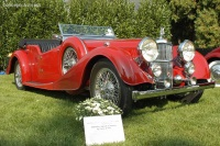 1939 Alvis Speed 25.  Chassis number 19575