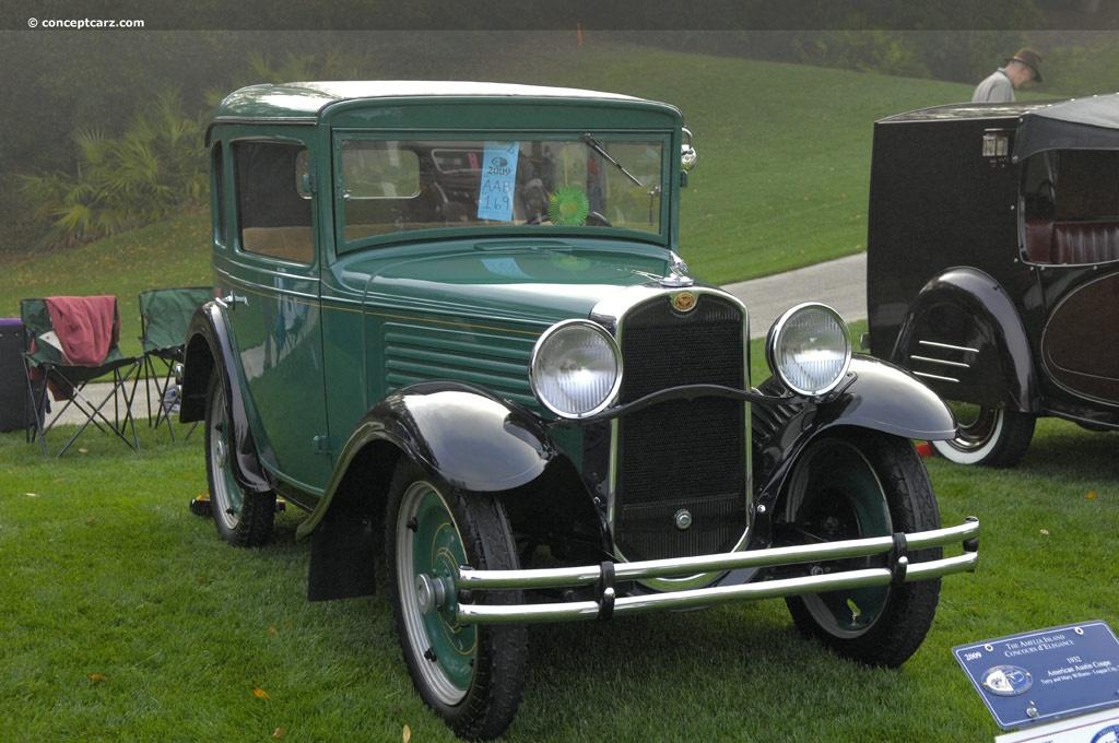 1932 American Austin Coupe Conceptcarz Com