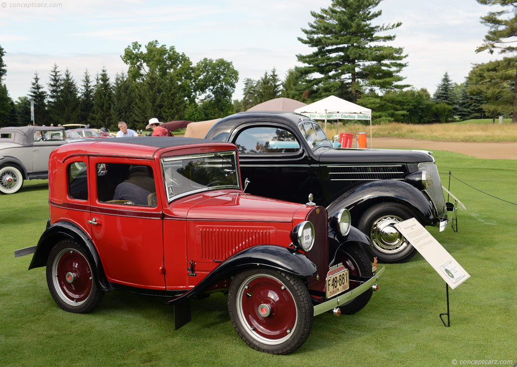 1932 American Austin Coupe At The Concours D Elegance Of