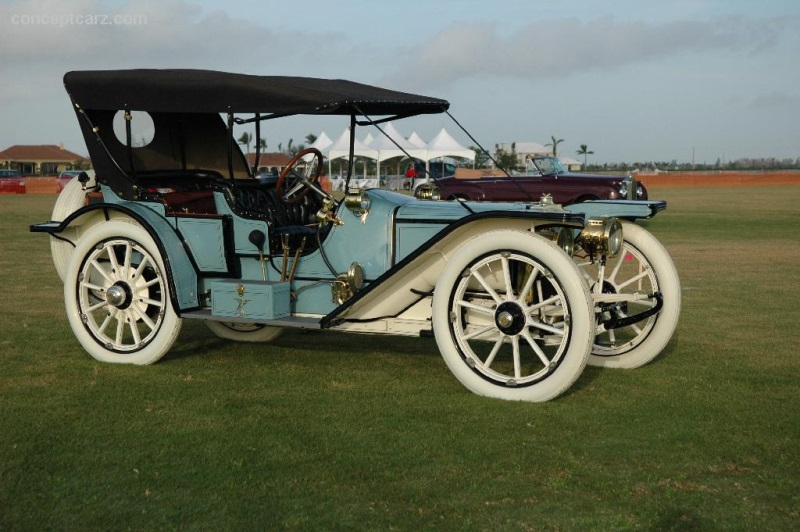 1910 american traveler underslung at the palm beach