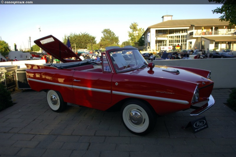 1964 Amphicar 770 Image Chassis Number 100583