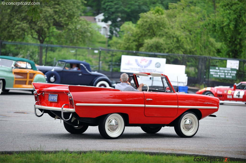 1967 Amphicar 770 History Pictures Value Auction Sales Research And News