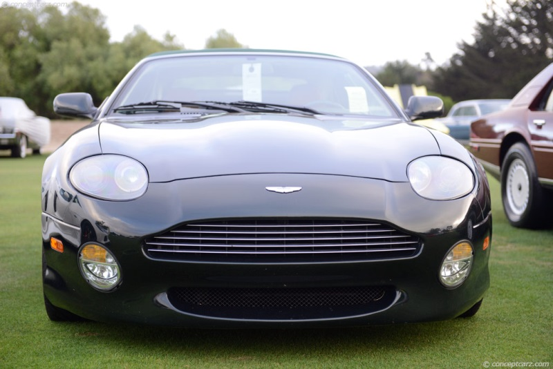 Aston Martin DB Image Chassis Number SCFABYK Photo - 2000 aston martin