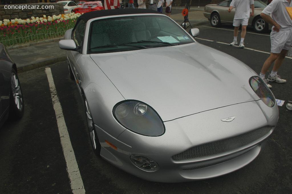 2002 Aston Martin Db7 Vantage Volante Conceptcarz Com