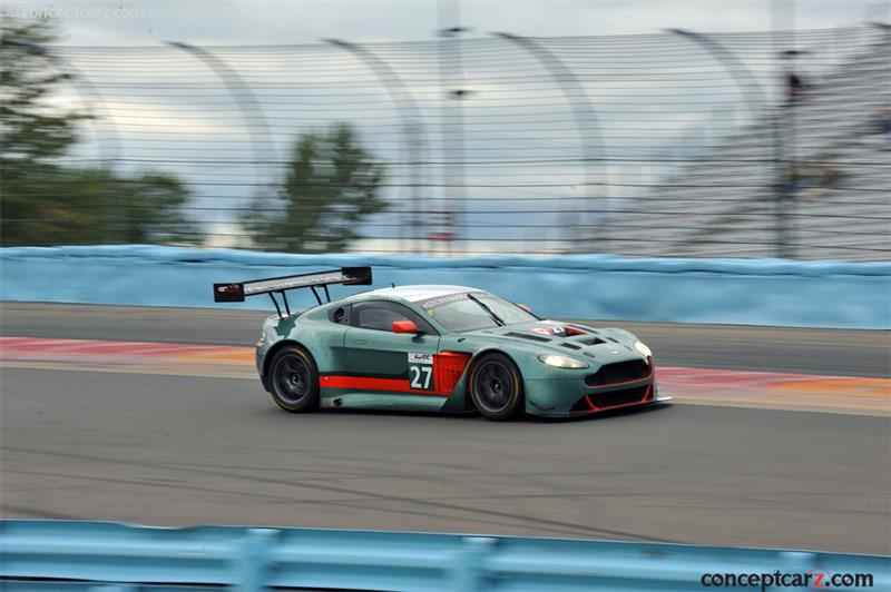 Aston Martin V12 Vantage GT3 pictures and wallpaper