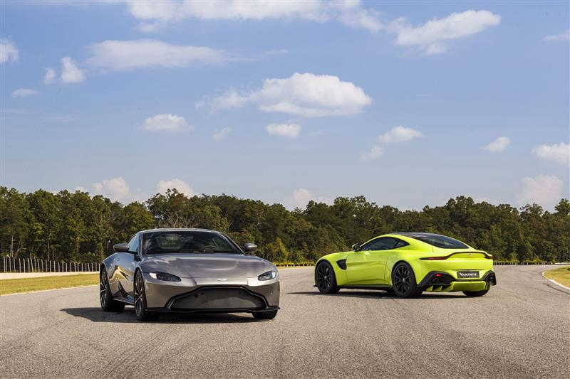 Aston Martin Vantage pictures and wallpaper