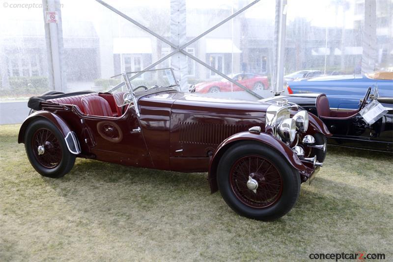 1934 Aston Martin Mk Ii Chassis F4 455 S Engine F4 455 S