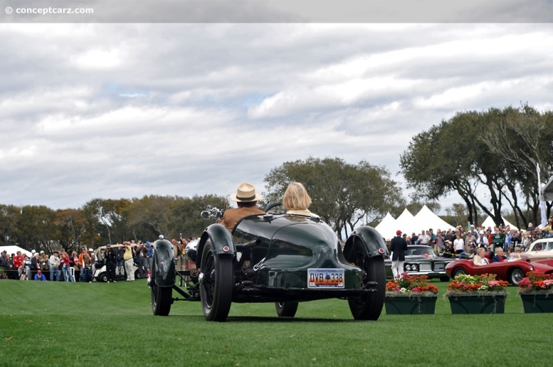 1935 Aston Martin Ulster Team Car Chassis Information