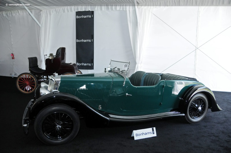 1938 aston martin 15/98 image. chassis number e8/790/lt. photo 50 of 50