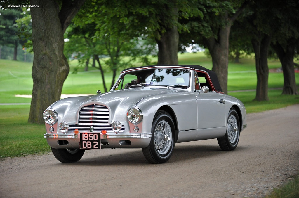 Aston Martin DB Image Chassis Number LML Photo Of - Aston martin db2