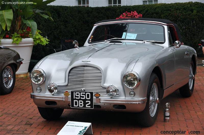 1950 Aston Martin Db2 Chassis Lml 50 217 Engine Vr6b 50 1082