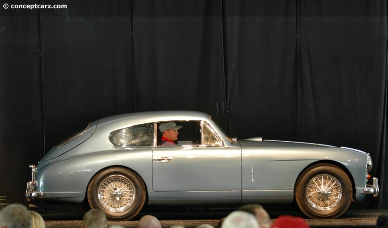 1954 aston martin db2 4 history pictures value auction sales rh conceptcarz com